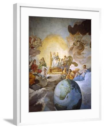 Allegory of Divine Wisdom, 1629-33-Andrea Sacchi-Framed Giclee Print