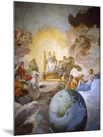 Allegory of Divine Wisdom, 1629-33-Andrea Sacchi-Mounted Giclee Print