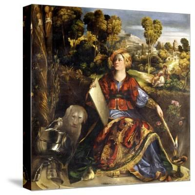 Circe-Dosso Dossi-Stretched Canvas Print