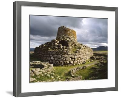 Nuraghe Santu Antine in Torralba, Sardinia--Framed Photographic Print