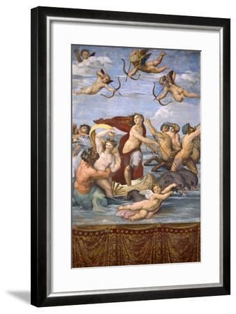 The Triumph of Galatea, C.1514-Raphael-Framed Giclee Print
