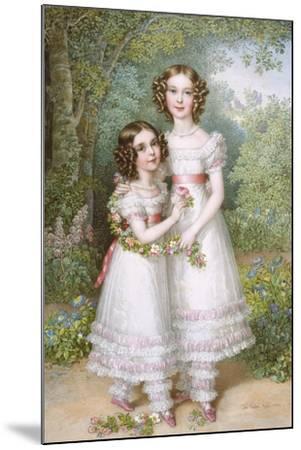 The Talbot Sisters-Johann Nepomuk Ender-Mounted Giclee Print
