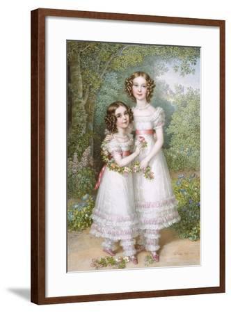 The Talbot Sisters-Johann Nepomuk Ender-Framed Giclee Print