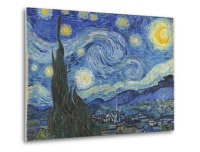The Starry Night, June 1889-Vincent van Gogh-Metal Print