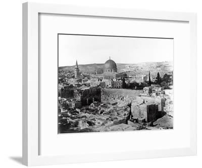 Dome of the Rock, 1857-James Robertson and Felice Beato-Framed Photographic Print