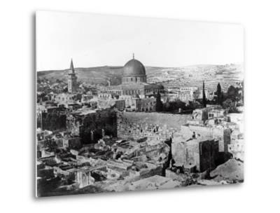 Dome of the Rock, 1857-James Robertson and Felice Beato-Metal Print