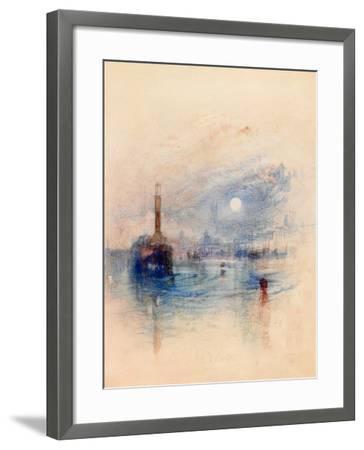 Margate, C.1840-J^ M^ W^ Turner-Framed Giclee Print