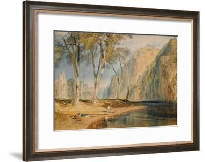 Bolton Abbey, C.1825-J^ M^ W^ Turner-Framed Giclee Print
