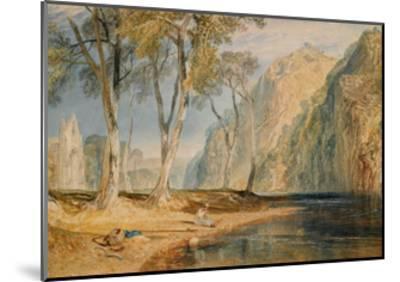 Bolton Abbey, C.1825-J^ M^ W^ Turner-Mounted Giclee Print