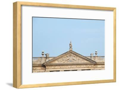 West Front, Chatsworth House, Derbyshire--Framed Photographic Print