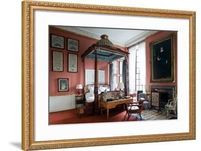 Queen of Scots Bedroom, Chatsworth House, Derbyshire--Framed Photographic Print