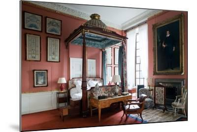 Queen of Scots Bedroom, Chatsworth House, Derbyshire--Mounted Photographic Print