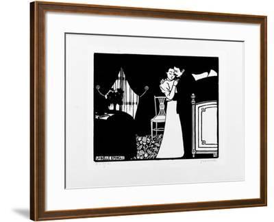 La Belle Epingle, 1897-98-F?lix Vallotton-Framed Giclee Print