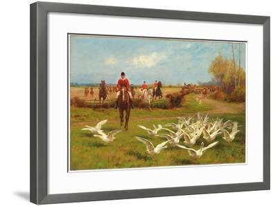 Away! Away!-Thomas Blinks-Framed Giclee Print