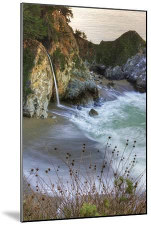 Scene at Waterfall Beach-Vincent James-Mounted Photographic Print