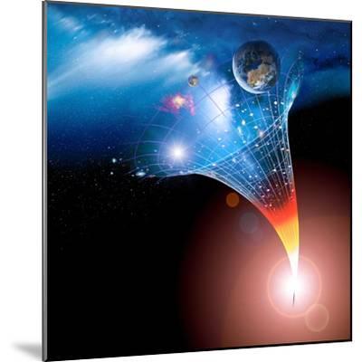 Big Bang Origin of the Universe, Artwork-Detlev Van Ravenswaay-Mounted Premium Photographic Print