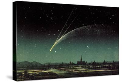 Donati's Comet, 1858-Detlev Van Ravenswaay-Stretched Canvas Print