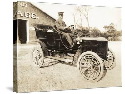 Stanley Steamer Car, 1906-Wallach-Stretched Canvas Print
