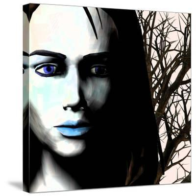Grief And Depression, Conceptual Image-Stephen Wood-Stretched Canvas Print