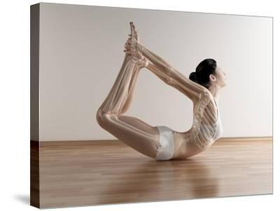 Yoga, Artwork-SCIEPRO-Stretched Canvas Print