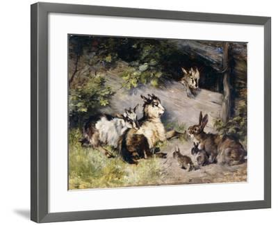 The Guests-Adam Julius		-Framed Giclee Print