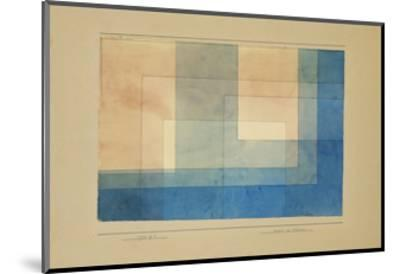 House by the Water-Paul Klee-Mounted Giclee Print