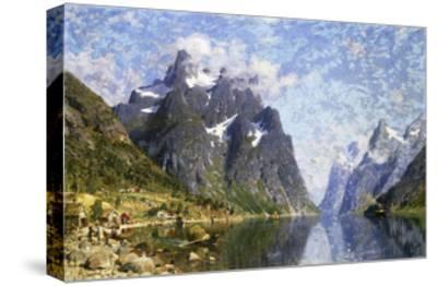 Hardanger Fjord, Norway-Normann Adelsteen-Stretched Canvas Print