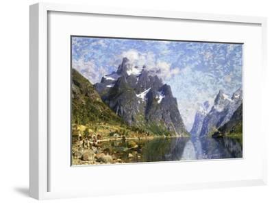 Hardanger Fjord, Norway-Normann Adelsteen-Framed Giclee Print