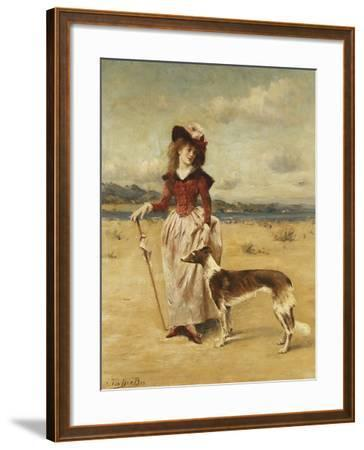 On the Beach-Bos George-Framed Giclee Print