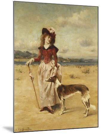 On the Beach-Bos George-Mounted Giclee Print