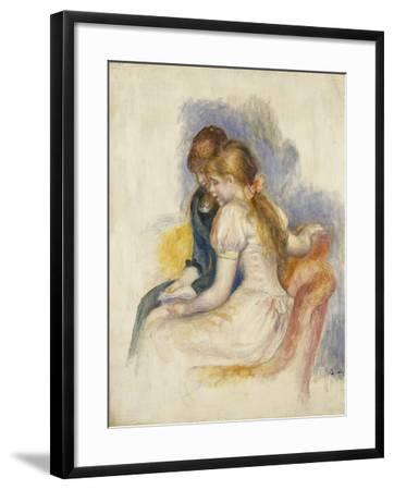 The Lecture-Pierre-Auguste Renoir-Framed Giclee Print
