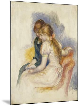 The Lecture-Pierre-Auguste Renoir-Mounted Giclee Print