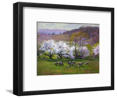 Blossom Time-Edward Henry Potthast-Framed Premium Giclee Print