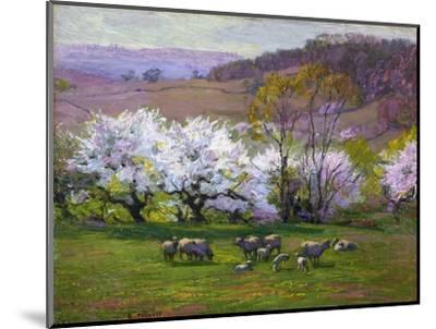 Blossom Time-Edward Henry Potthast-Mounted Premium Giclee Print