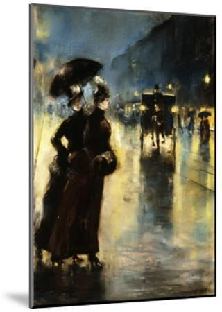 Nactbeleuchtung-Lesser Ury-Mounted Giclee Print