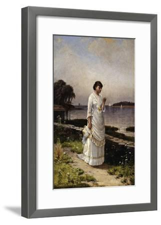 The Engagement Ring-Alfred Thompson Bricher-Framed Giclee Print