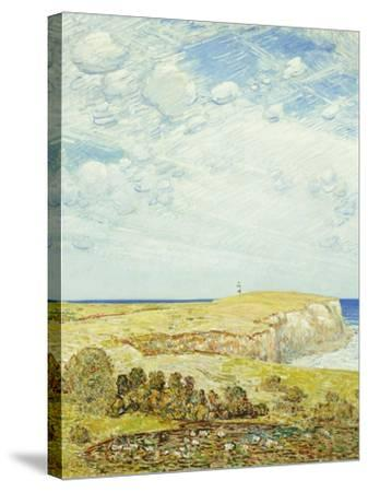 Montauk Point-Childe Hassam-Stretched Canvas Print