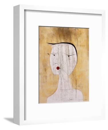 Sealed Woman-Paul Klee-Framed Premium Giclee Print