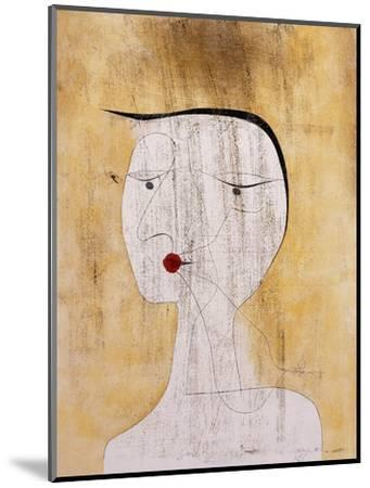 Sealed Woman-Paul Klee-Mounted Premium Giclee Print