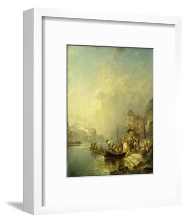 The Farewell Party-Franz Richard Unterberger-Framed Giclee Print