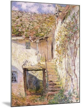 A Path on the Edges of Pontoise-Camille Pissarro-Mounted Giclee Print