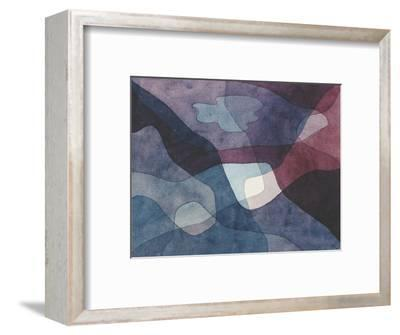 Mountain and Synthetic Air-Paul Klee-Framed Premium Giclee Print