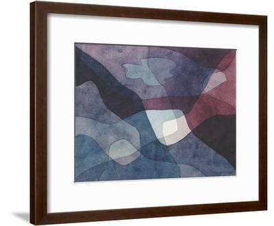 Mountain and Synthetic Air-Paul Klee-Framed Giclee Print