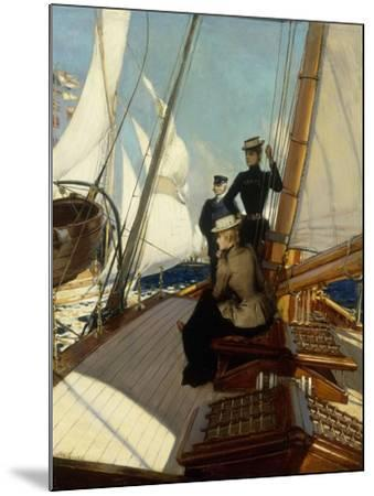 An Afternoon at Sea-Albert Lynch-Mounted Giclee Print