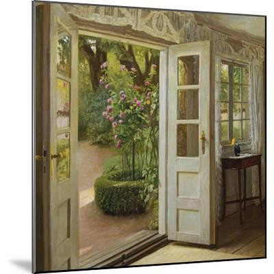 The French Windows-John Leopold Lubschitz-Mounted Giclee Print