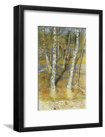 Spring Flood-Carl Larsson-Framed Giclee Print