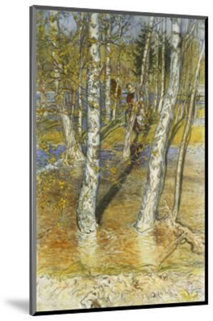 Spring Flood-Carl Larsson-Mounted Giclee Print