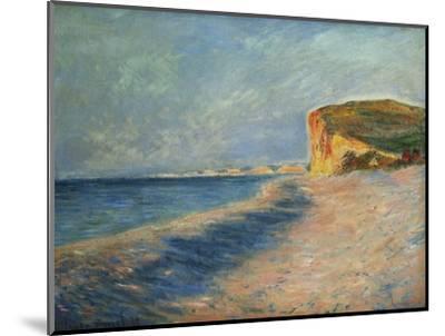 Pourville Near Dieppe-Claude Monet-Mounted Premium Giclee Print