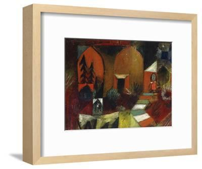Child as a Hermit-Paul Klee-Framed Premium Giclee Print