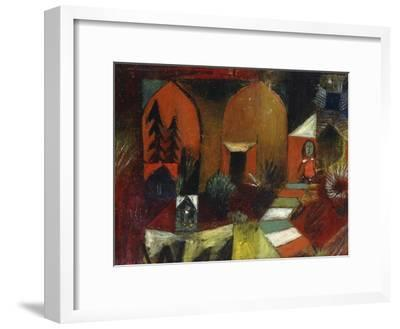 Child as a Hermit-Paul Klee-Framed Giclee Print